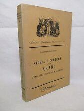 Guidi - Storia e cultura degli Arabi fino alla morte di Maometto - Sansoni 1951