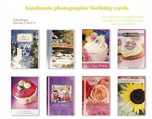 Image Is Loading Assorted Handmade Embellished Birthday Cards Box Set 8