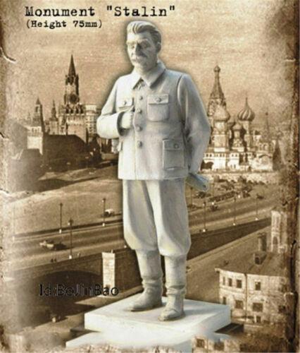 1//24 75cm Soviet Commander Stalin Resin Figure Model Kits Unassembled Garage Kit