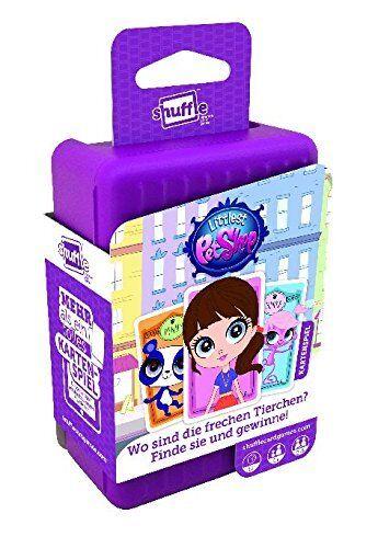 NEU OVP ASS Altenburger Shuffle Littlest Pet Shop Kartenspiel 5 LOT 35504