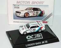 1:87 BMW M3 E30 DTM 1990 Linder Vogelsang Nr.11 Altfried Heger - herpa 3526