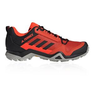 ADIDAS Terrex Da Uomo AX3 scarpe da passeggio-Rosso Sport All'aperto Traspirante