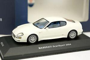 Ixo-1-43-Maserati-Gransport-2004-Blanche