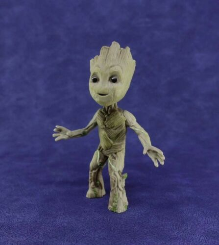 "Guardians of The Galaxy Vol 2 Baby Groot 4/"" Figure Statue Collectable Toy Gift"