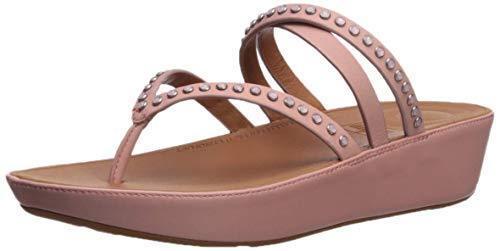 Nuevo Indias Linny Criss-Cross Toe-Sandalias, en rosado Salmón rosado, Mujer Mujer Mujer Talla 10, 100    venta con alto descuento