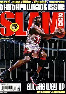 10e59f6bd34053 Slam Magazine  200 8 2016 basketball NBA Cover 1 of 2 MICHAEL JORDAN ...