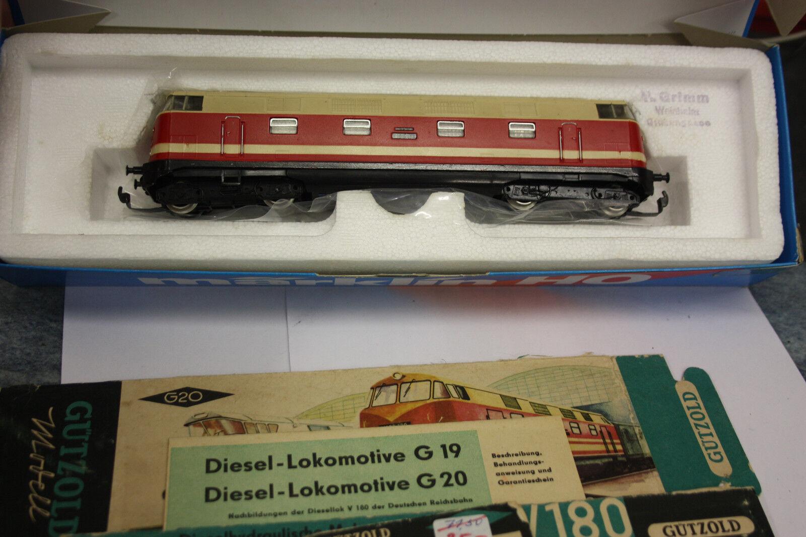 Guetzold ho h0 diesel-Lok br V 180 la Dr VP    ow51 05