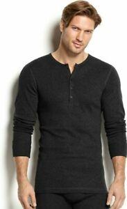 2-x-ist-Men-039-s-Essential-Range-Long-Sleeve-Henley-Shirt-Sz-XL-NWT