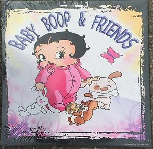 Baby-Betty-Boop-amp-Friends-15-034-x-15-034-on-Wooden-Stretcher-Frame