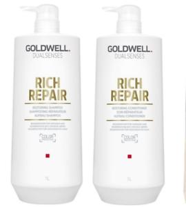 Goldwell-Dualsenses-Rich-Hair-Repair-Shampoo-and-Conditioner-2x1000ml-SuperSize