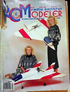 Radio Control Modeler RCM Magazine April 1987 Magnum 60 m146