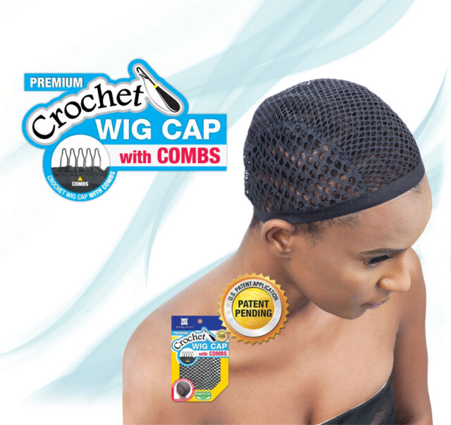 Freetress Crochet Wig Head Cap Weaving Hair Net Cover With Combs Ebay