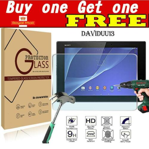 """Tablet Tempered Glass Screen Protector Cover For Sony Xperia Z2 10.1/"""""""