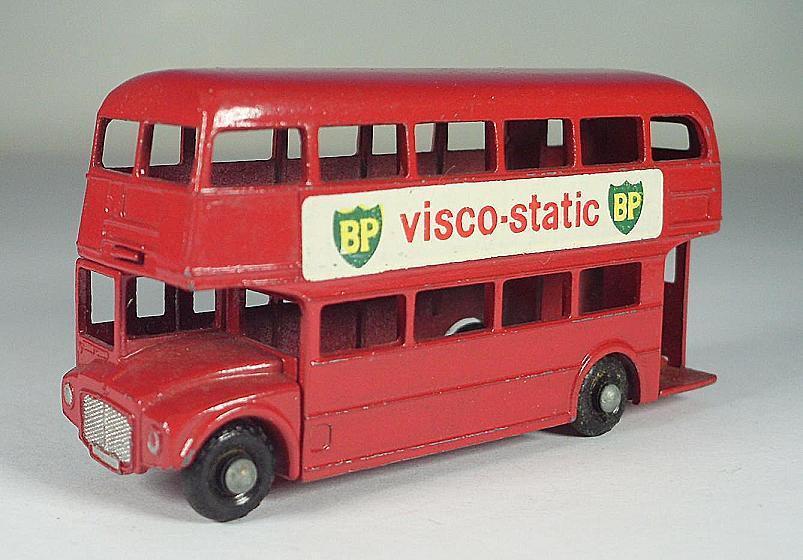 Matchbox Regular Wheels Nr. 5 C London Bus BP Visco-Static BP BPW Lesney