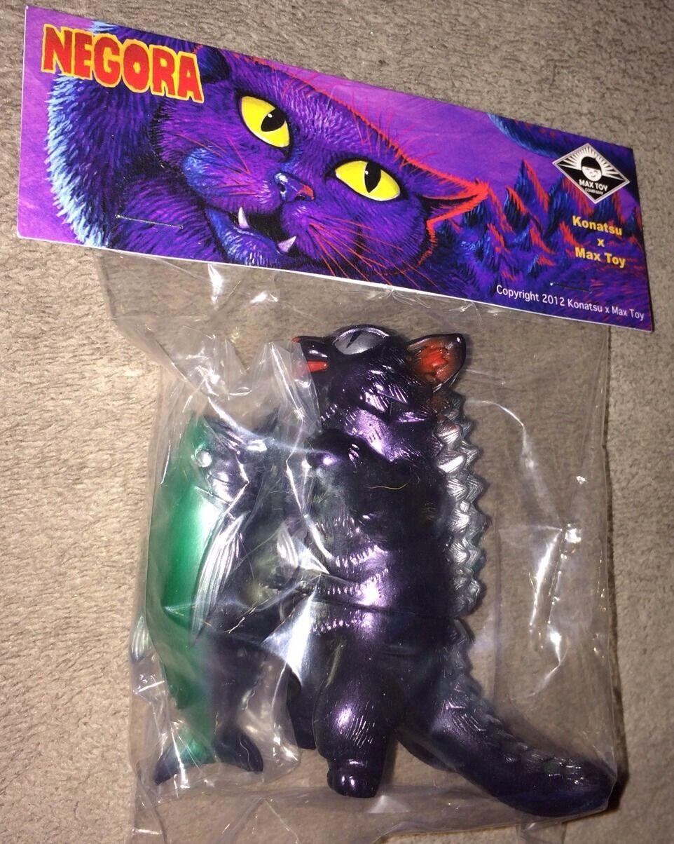 NEGORA CAT & BIG FISH KAIJU FIGURE MAX TOY COMPANY NIB RARE  7