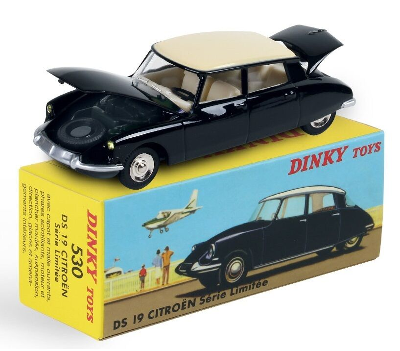 AVAILABLE DINKY TOYS ATLAS CITROEN DS 19 1 43 REF 530 IN BOX CHRISTMAS 2015
