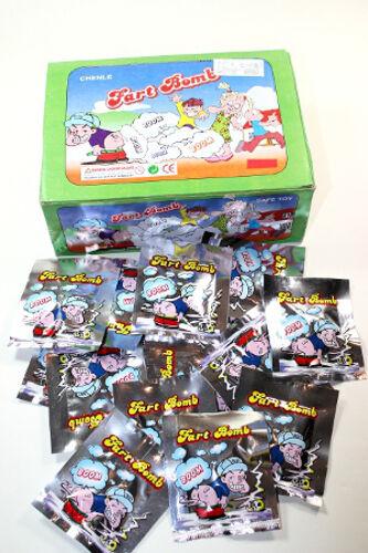 100 Stück Stinkbomben Fart Bags Bomb Bag Furzbomben Stink Bombe