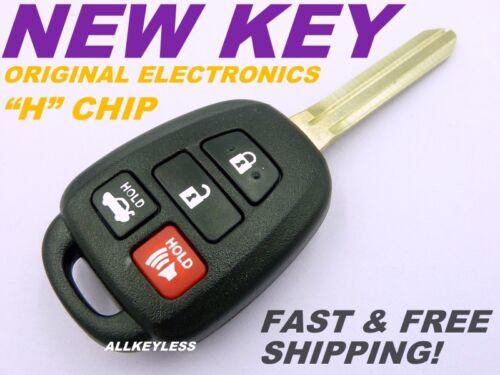 "2014-16 TOYOTA COROLLA keyless entry remote key fob transmitter HYQ12BEL /""H/""chip"