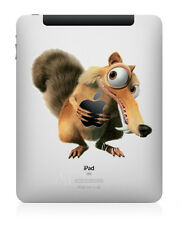 Ice Age Squirrel Squat Apple iPad 1 2 3 4 Air Decal Sticker Skin Decals IAIPAD
