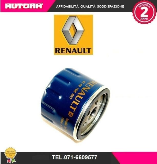 8200768927 Filtro olio adat.Dacia-Renault-Opel-Suzuki (MARCA ORIGINALE-RENAULT)