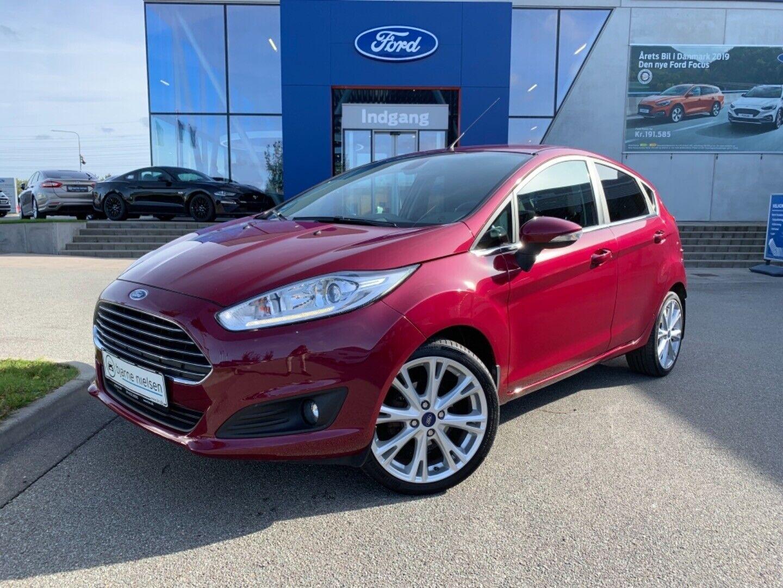 Ford Fiesta 1,0 SCTi 125 Titanium X