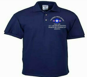 161ST-AIR-REFUELING-WING-ARIZONA-USAF-ANG-EMBROIDERED-LIGHTWEIGHT-POLO-SHIRT