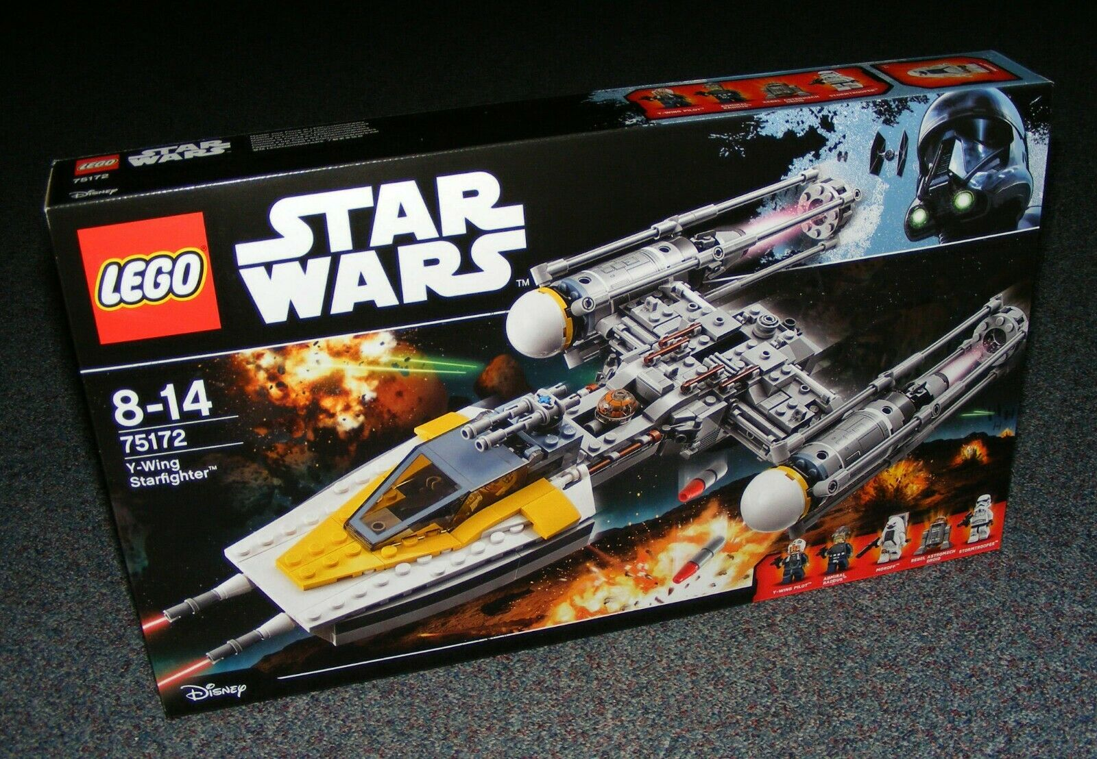 STAR WARS LEGO 75172 Y-WING STARFIGHTER BRAND NEW SEALED BNIB