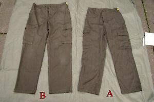 Grade2-Austrian-Army-Fatigue-Trousers-Dyed-ideal-for-Bush-Craft