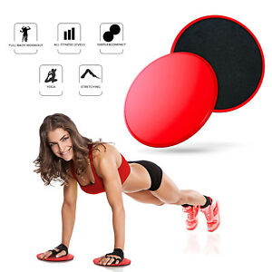 Workouts 2 Fitness Leg Abs Dual Yoga Core Gym Discs Home Sliders Sided Gliding