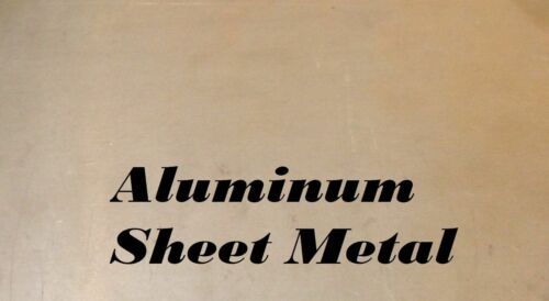"6 Gauge 2 Pieces 7/"" x 9/"" Aluminum Sheet Metal .160/"" Thick"