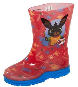 Bing Bunny Wellington Boots Kids Boys