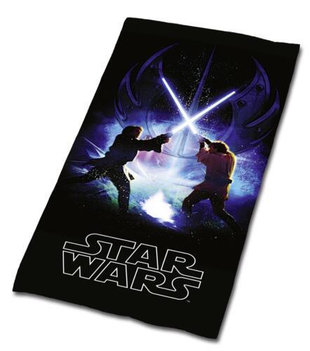 STAR WARS JODA SKYWALKER BADETUCH SAUNA HANDTUCH VELOURSTUCH  75 x 150 NEU WOW