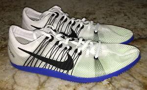 NIKE Matumbo 2 White Black Mid Distance Track Spikes Shoes Kids 4.5 ... ed204fe74