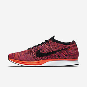 65dc15224aaf Nike Flyknit Racer Shoes Size 13 Acai Berry Hyper Orange Vivid ...