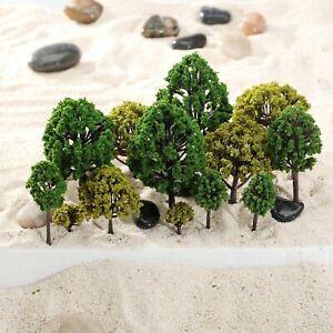 40pcs-Mixed-Scale-Model-Trees-HO-N-O-Scale-Model-Trees-Train-Railway-Layout