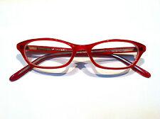 Derek Lam Red #211 Cat-Eye Glasses, BRAND NEW, RETAIL FOR $245