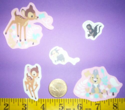 Cool New Disney Bambi IRON-ONS FABRIC APPLIQUES IRON-ONS