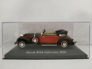 1-43-HORCH-853A-CABRIOLET-1938-IXO-COCHE-DE-METAL-A-ESCALA-DIECAST