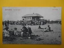 On The Sands CARNOUSTIE Angus *Vintage* Buik Series 1906 Children Beach crowds