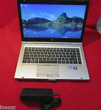 HP Elitebook 8460p 2.5GHz Quad Core i5-2520M Win10 64bit 4GB 250GB DVDRW USB3.0