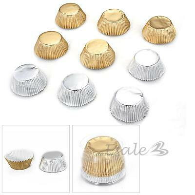 100pcs Foil Cupcake Muffin Cake Paper Baking Cup Cases Liners Home