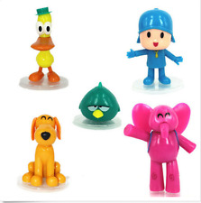 5pcs/set Pocoyo Zinkia Cake toppers Decoration Play Doll Figures Toys USA Seller