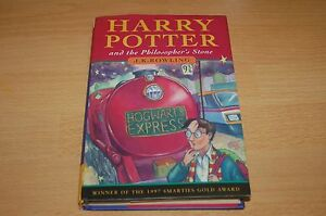 1st Edition, 28th Print U.K. Hardcover Harry Potter and the Philosopher's Stone