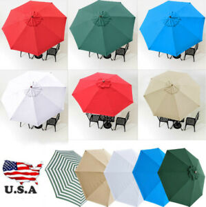 Outdoor-Market-Patio-Umbrella-Replacement-Covers-Top-Canopy-Durable-Sunshade