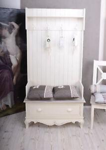 Garderobenschrank-Flur-Garderobe-shabby-chic-Standgarderobe-Dielengarderobe-Holz
