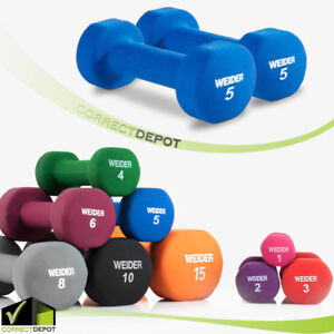 SET-OF-2-NEOPRENE-DUMBBELL-Hand-Weights-Fitness-Home-Workout-Exercise-1-15-lbs