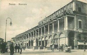 Cartolina-di-Faenza-municipio-Ravenna