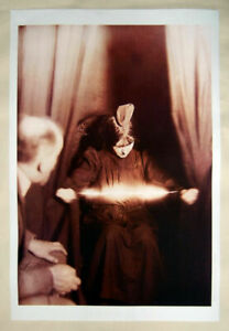 XL-Format-Art-Print-1912-034-Telekinetic-Fire-034-Psychic-Spiritualism-Magic-Poster