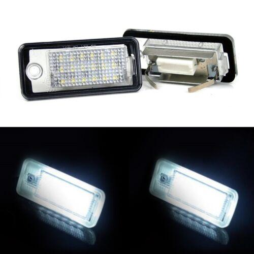 CanBus led indicador matrícula iluminación de la matrícula audi a3 a4 a5 q5 TT
