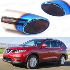 X-Trail #2072 1Pcs Car Exhaust Muffler Tip Tail Pipe End Trim for Nissan Rogue